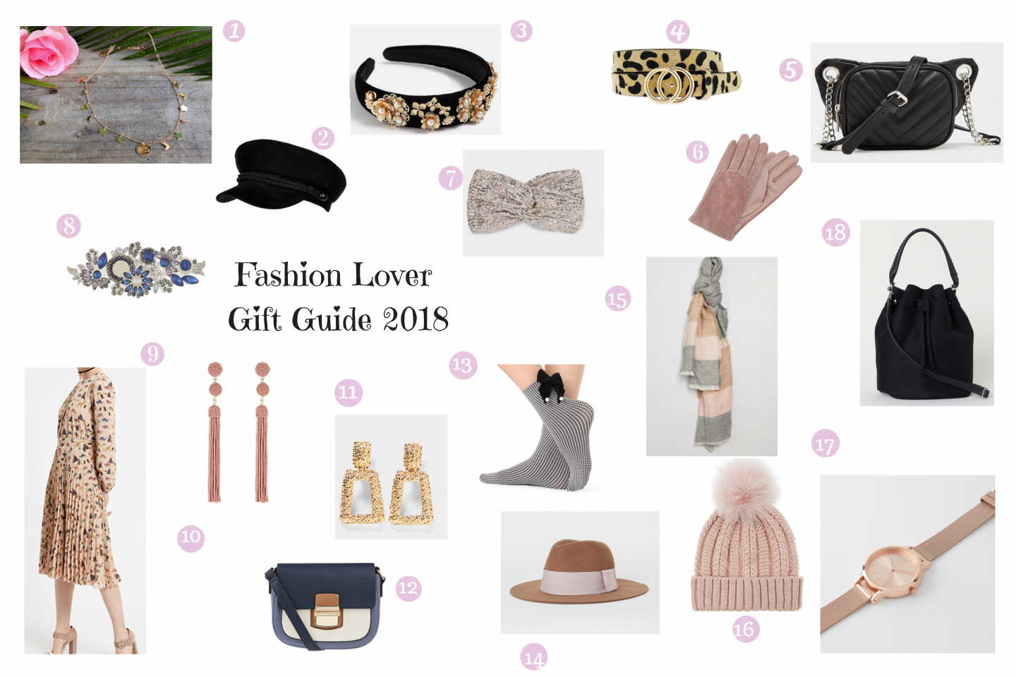 Christmas Gift Guide 2018 – per vere fashion lover